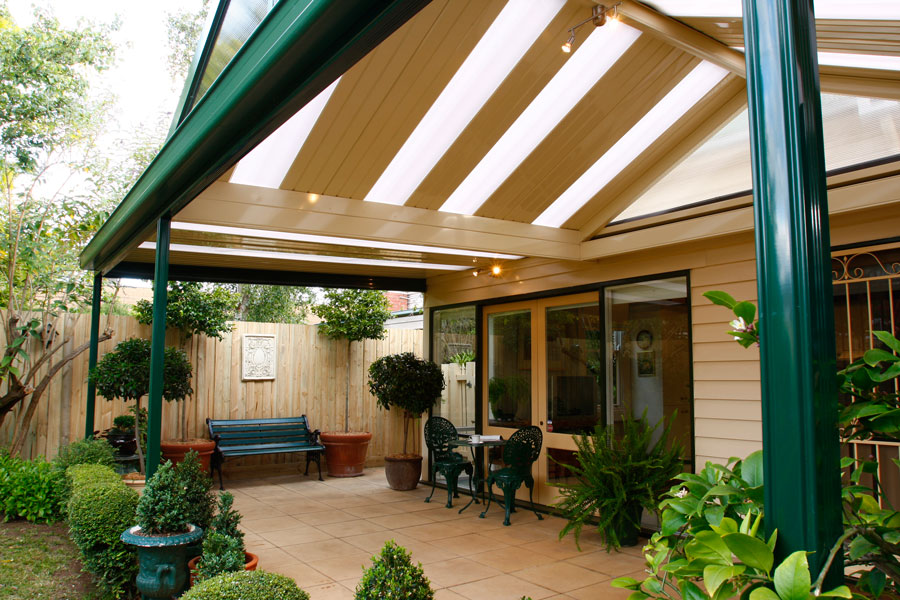 Freespan Gable verandah roof